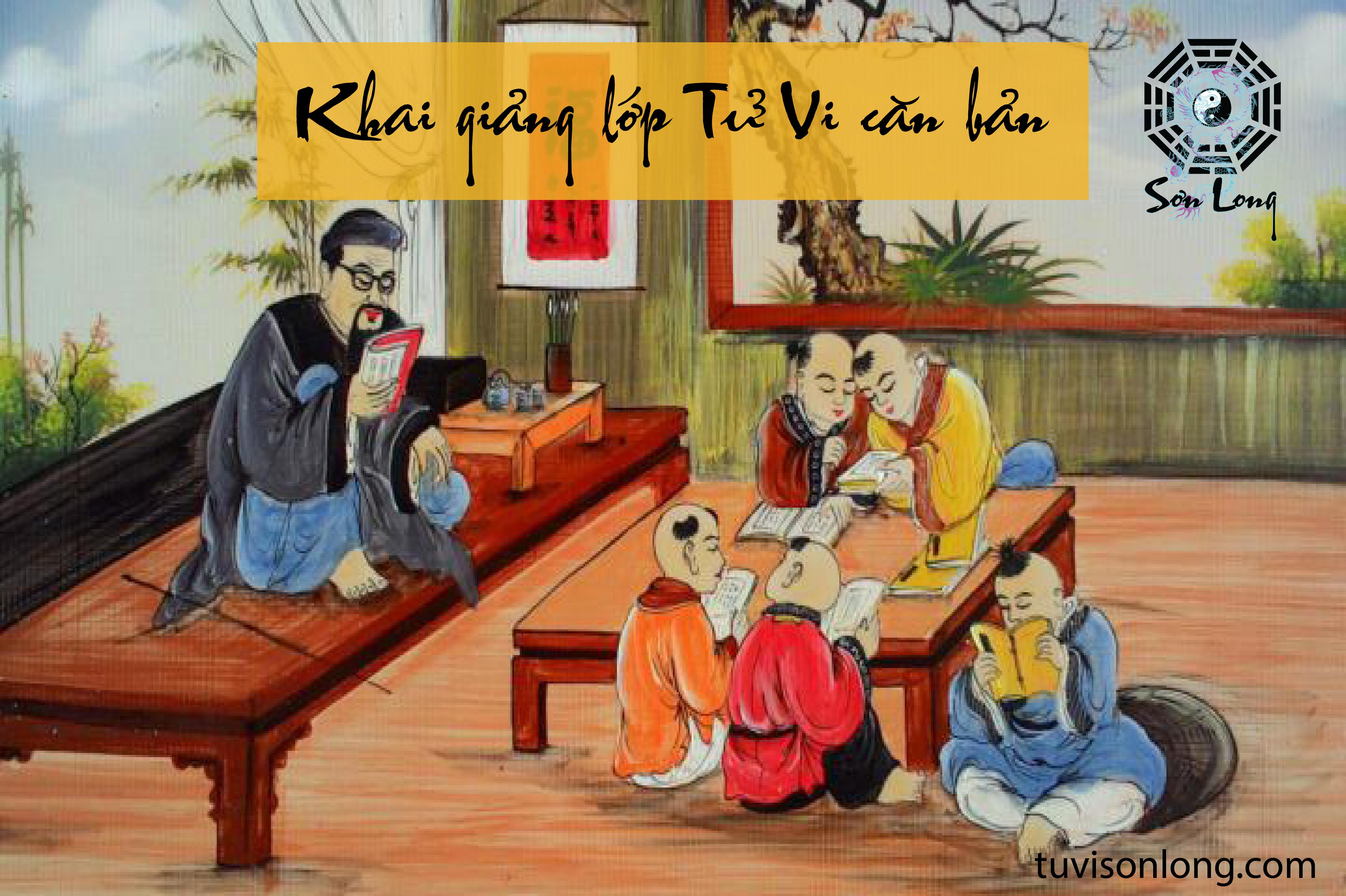 KHAI GIẢNG KHÓA HỌC TỬ VI CƠ BẢN TẠI HÀ NỘI – 20/07/2019