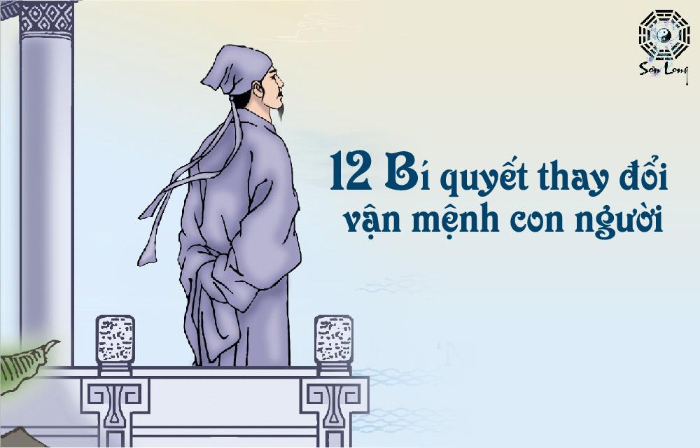 12 BÍ QUYẾT THAY ĐỔI VẬN MỆNH CON NGƯỜI