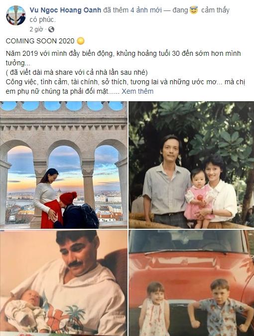 MC Hoàng Oanh Mang Thai